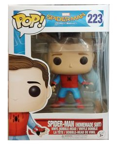 Funko POP! Spider-Man Homecoming - Unmasked Homemade Suit #13316