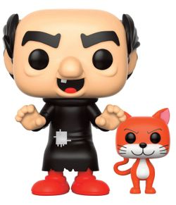 Funko POP! The Smurfs - Gargamel with Azrael - die Schlümpfe #20141