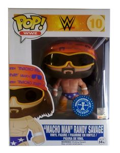 "Funko POP! Randy Savage ""Macho Man"" #7076"