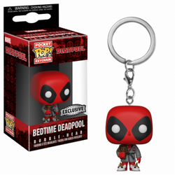 Funko POP Keychain - Deadpool Playtime - Deadpool Bath Robe #31733