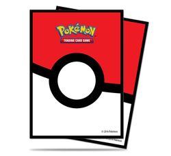 Ultra Pro Standard Sleeves - Pokemon Pokeball (65 Sleeves) #85120