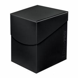 Ultra Pro Deckbox 100+ Eclipse Jet Black #85683