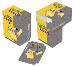 Ultra Pro Deck Box  - Pokemon Pikachu #84481 Deckbox