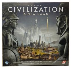 Sid Meier's Civilization - A NEW DAWN - Brettspiel EN