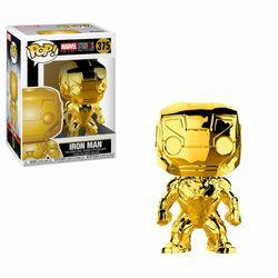 Funko POP! Marvel Studios 10 - Iron Man (Chromefarben) #33434