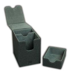 Blackfire Premium Deck Box Single 80+ Standard Size Cards (with Dice Tray)