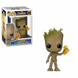 Funko POP! Avengers Infinity War - Groot with Stormbreaker #35773