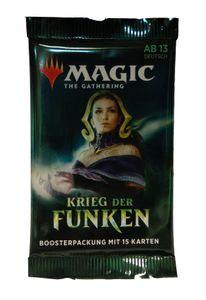 Krieg der Funken Booster deutsch - MtG Magic the Gathering