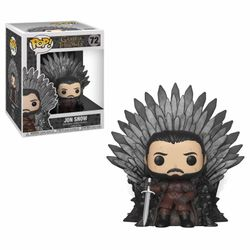 Funko POP! Deluxe - Game of Thrones - Jon Snow on Iron Throne #37791