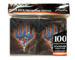 100 Ultra Pro MtG Magic Sleeves -  M20 Card Back Motiv - (66x91mm)