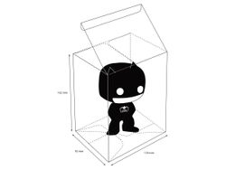 Ultimate Guard Schutzhüllen für Funko Pop!™ Figuren im Thekendisplay (40)