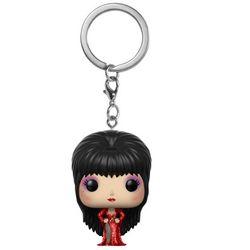 Funko POP Keychain - Elvira (Red Dress) #34701