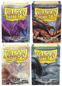 100 Dragon Shield Matte NON-GLARE Card Sleeves