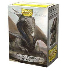 100 Dragon Shield Matte Art Sleeves - Sphinx Dragon