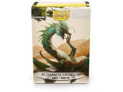 100 Dragon Shield Matte Art Sleeves - Summer Dragon #12021 – Bild 1