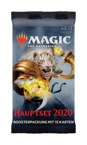 M2020 Magic 2020 Hauptset Booster deutsch - MtG Magic the Gathering