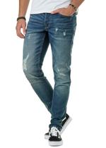 Weft Med Blue 6970 Straight Jeans 2