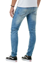 Loom Med Blue 6968 Straight Fit Jeans 5