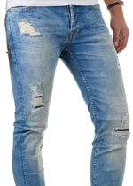Loom Med Blue 6968 Straight Fit Jeans 6