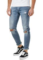 EFJ8542 Skinny Destroyed Jeans 1