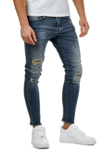 EFJ3725 Destroyed Skinny 7/8 Jeans 2