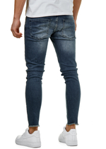 EFJ3725 Destroyed Skinny 7/8 Jeans 5