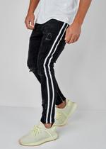 EFJ4254 Stripe Jeans 2