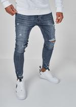 EFJ3304 Destroyed Jeans 3