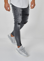 EFJ3359 Destoyed Jeans 9