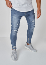 EFJ5029 Destroyed Jeans 1