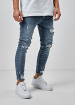 EFJ5091 Destroyed Jeans 3