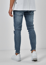EFJ5091 Destroyed Jeans 5