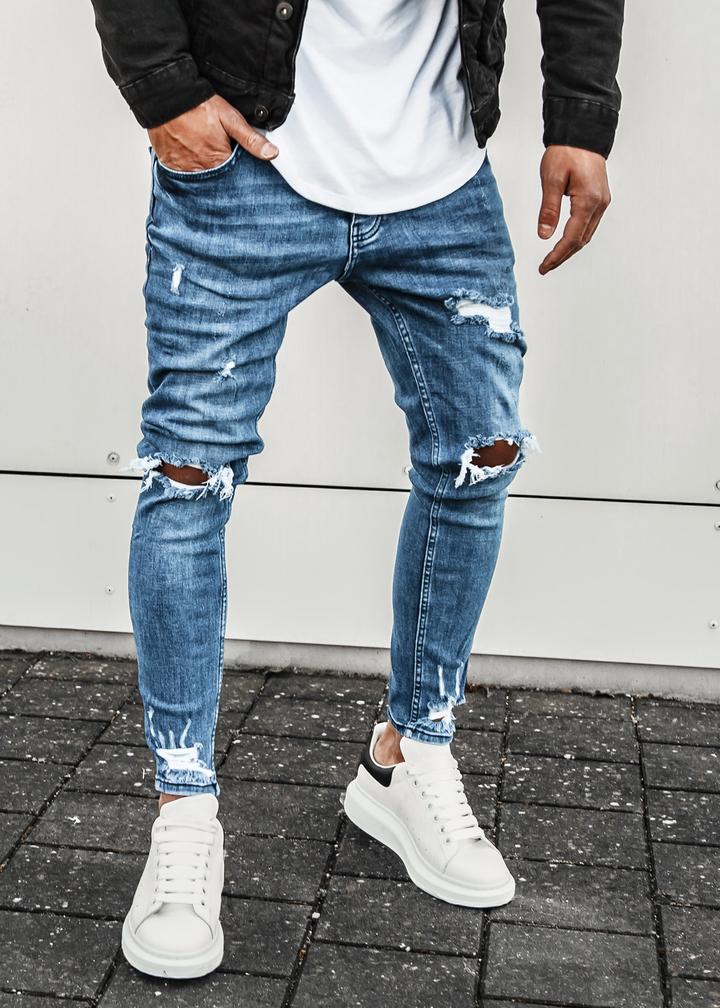 herausragende Eigenschaften spottbillig Top Marken Destroyed Jeans | EightyFive