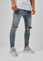 EFJ5234 Destroyed Jeans 2