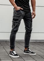 EFJ4607 Cargo Jeans 2