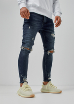 EFJ5305 Destroyed Jeans 2