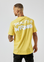 Reality Is Wrong Yellow T-Shirt 2