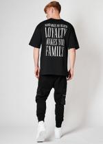 Loyalty Backprint T-Shirt - Schwarz 5