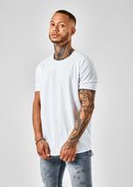 Asymmetric T-Shirt - Weiß 1