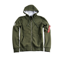 168321 Army Zip Hoody 1