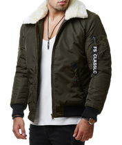 FS-1009 Winter Bomberjacke 1