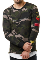 L7260 Camouflage Sweater 1