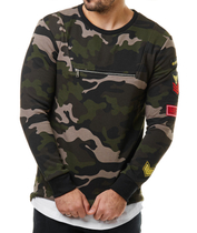 L7260 Camouflage Sweater 2