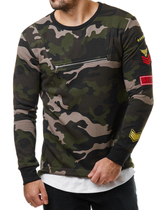 L7260 Camouflage Sweater 3