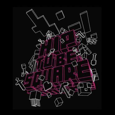 Hip to Be Square - T-Shirt - Herren - Größe L - (NEU) – Bild 2