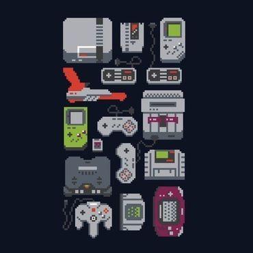 A Pixel of My Childhood - T-Shirt - Damen - Größe XL - (NEU) – Bild 2