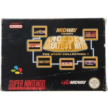 Midway Presents Arcade's Greatest Hits - The Atari Collection 1 (SNES) (Gebraucht) (OVP)