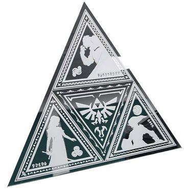 "The Legend of Zelda Spiegel ""Triforce"" (Paladone) (Neu)"