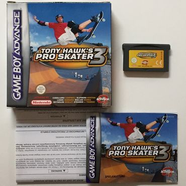 Tony Hawk's Pro Skater 3 (GameBoy Advance) (Gebraucht) (OVP) – Bild 2