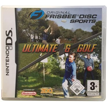 Original Frisbee Disc Sports Ultimate & Golf (Nintendo DS) (Gebraucht) (OVP)